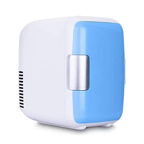 Sits Mini congelador, Mini refrigerador del Coche 4L Mini Conveniente para el hogar/el Viaje, etc. (Color : Blue)