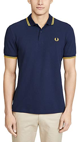 Fred Perry Slim Fit Twin Tipped Polo… (s)