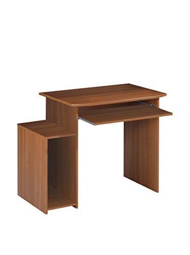 13Casa Vittoria a1 scrivania. Dim. 95 * 58 * 78h cm. melamina. Castagno.