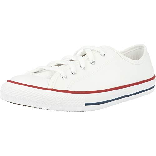 Converse All Star Dainty Ox Damen Sneaker Weiß, E E K, 39 EU