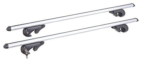 Compass Aluminium Dachträger 135cm TOP TÜV für Touran II (5T) (15-) der Belastbafkeit 75kg
