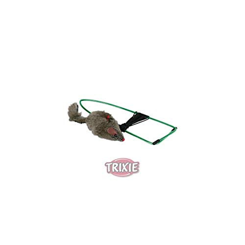 Trixie Plüsch Maus für Türrahmen, 8cm, 1Stück
