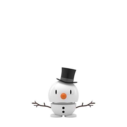 Hoptimist Baby Schneemann, Snowman, Weihnachtsfigur, Deko Schneemann, weiß