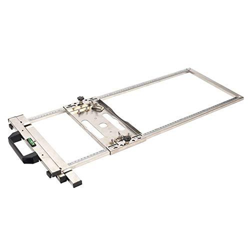 Completamente adecuado Multifunción Electricidad sierra circular de mesa Herramientas Trimmer Guía de posicionamiento de la máquina de corte de la carpintería Router Recargables alicates Conjunto Asis