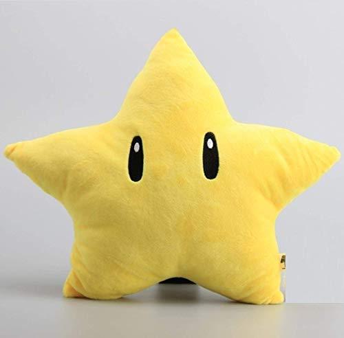 EREL Super Mario bros gelb Stern EIS Blume Feuer Blume plüsch Spielzeug Cartoon weiche gefüllte Puppen Kinder Geburtstag 30cm dedu