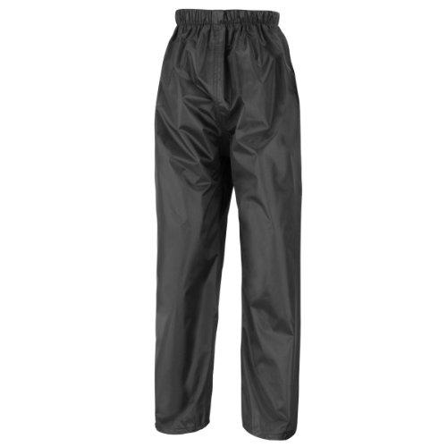 Result Herren Regenhose/Überhose (XL) (Schwarz)