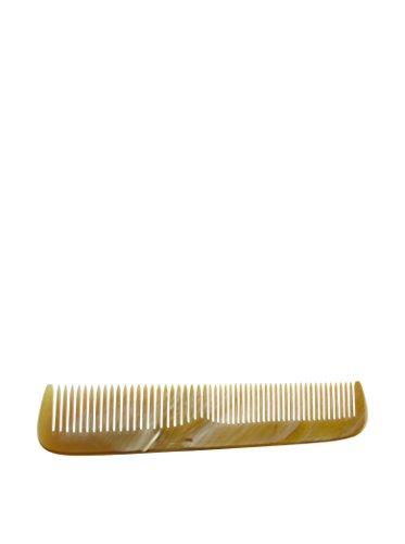 Golddachs Horn-Frisierkamm geteilt gezahnt, 17 cm