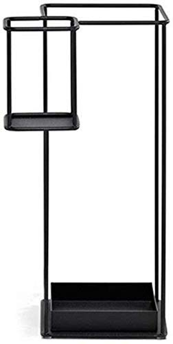 FCXBQ Creativo de Gran Capacidad Marco de Hierro Cuadrado Paragüero/Oficina Oficina móvil Hotel Hotel Cubo de la Pantalla/Balcón A Prueba de Humedad Práctico Paraguas Almacenamiento Rack Sopor