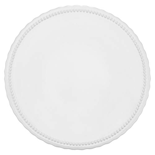 RBV Birkmann 443648 - Piatto per torta Vintage, Ø 25 cm, in ceramica, colore: Bianco