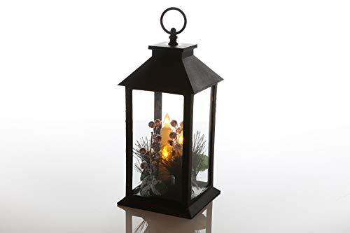 Flower Power lantaarn met kaars