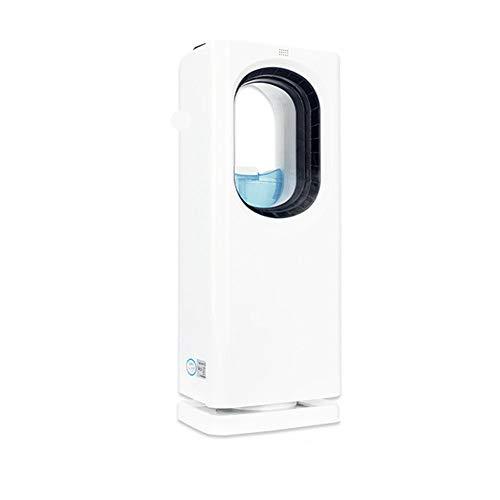 Klimaanlagenlüfter Kältemaschinen, Befeuchtende kleine mobile wassergekühlte Klimaanlagen, blattloses Sicherheitsdesign Lüfter, 65 W, Neuer kreisförmiger Luftauslass, Mit Mückenschutzfunktion