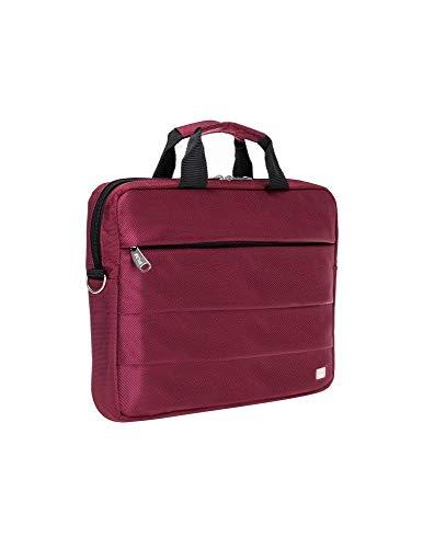 PLM Canyon hochwertiger Slim CASE Tasche/Notebooktasche/Businesstasche bis 13,3 Zoll/Farbauswahl (Bordeaux)
