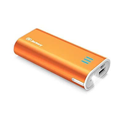 Jackery Bar External Battery Charger - Portable Charger and Power Bank for iPhone 6 Plus, 6, 5, iPad Air, iPad Mini, Samsung Galaxy S6, S5 & Other Smart Devices - 6,000 mAh