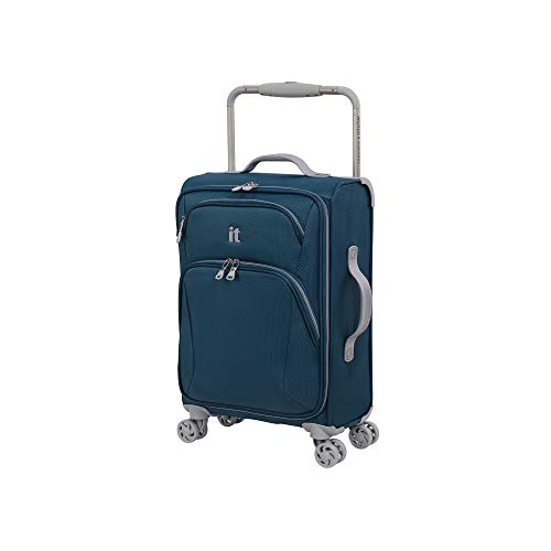 it luggage Sprightful World's Lightest Softside Spinner, Legion Blue, Carry-On 22-Inch