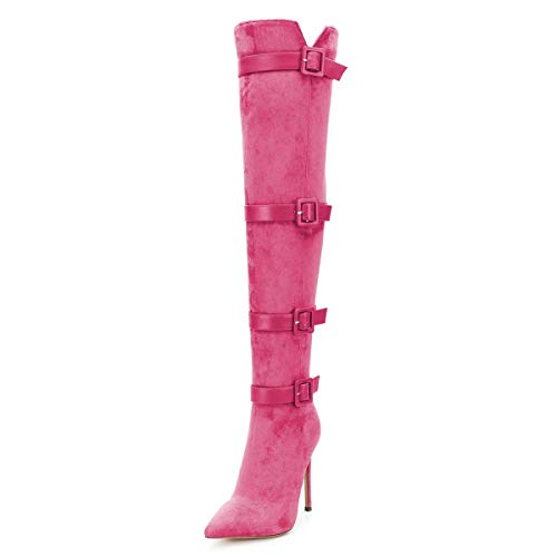 XYD Women Stiletto High Heel Over T…