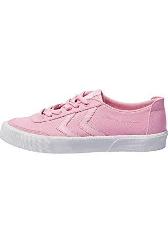 hummel Unisex Stockholm Low Sneaker, Pink (Orchid Pink), 40 EU