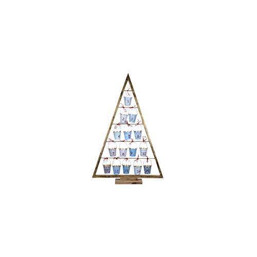 Art Deco Home - Adventskalender für 15 Tage WEIHNACHTSBAUM, 93 cm - 15403SG