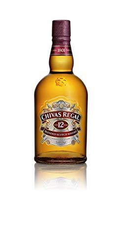 1. Whisky escocés Chivas Regal 12 años