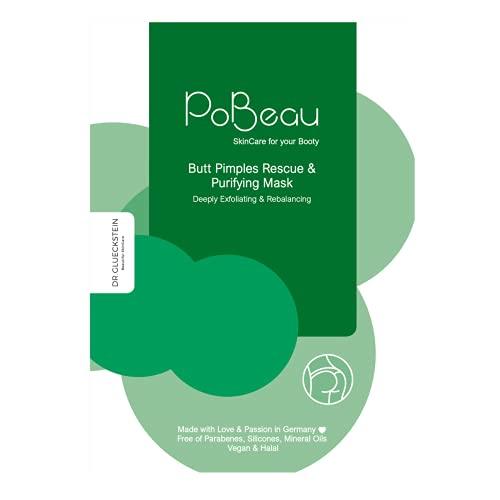 PoBeau Anti-Pickel Hydrogel Po-Maske   12 ml  reinigt und verfeinert die Poren. Entzündungshemmend und tiefwirksam gegen Pickel, Mitesser und unreine Haut