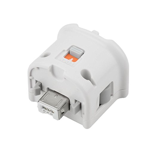 CaaWoo Adattatore Motion Plus Bianco per WiiController Remoto Wii