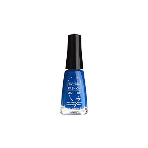 FASHION MAKE UP - Vernis à ongles SUMMER - Bleu Fluo - Fabrication Européenne