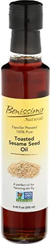 Benissimo Toasted Sesame Seed Oil, 8.45 Fluid Ounce