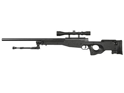 Well MB01C / L96 Airsoft Sniper Rifle inkl. Bipod & Zielfernrohr Downgrade Edition< 0,5 J.