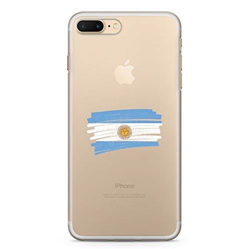 ZOKKO - Carcasa para iPhone 7 Plus Plus Plus (diseño de Argentina)