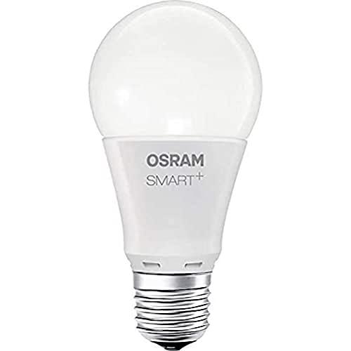 OSRAM Smart+ Lot de 4 Ampoules LED Connectées - Culot B22 - Forme Standard - Dimmable - 16 Millions de couleurs - 10W (équivalent 60W) - Zigbee - Compatible Android & Amazon Alexa