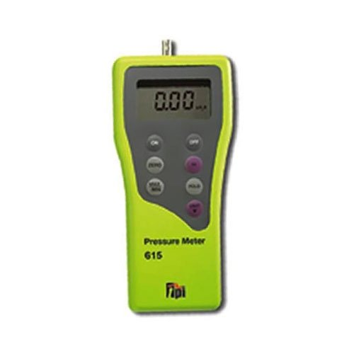 TPI 615 Digital Manometer 15 Input Bombing new work Direct stock discount 48in.H2O Selectable Single 7