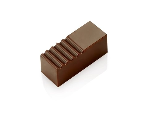 Pavoni Chocolate Mold Rectangle 15x37mm x 15mm High, 21 - PC03 by Pavoni