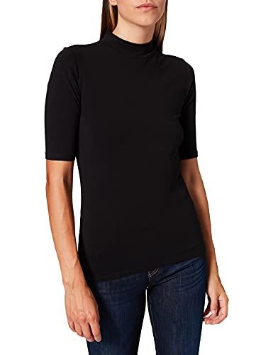 Only ONLOLINE Life Live Love 2/4 CS JRS Camiseta, Negro, L para Mujer