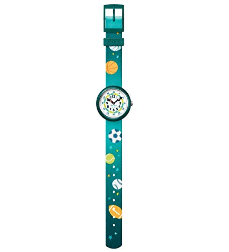 Flik Flak Jungen Analog Quarz Uhr mit Textil Armband FBNP138