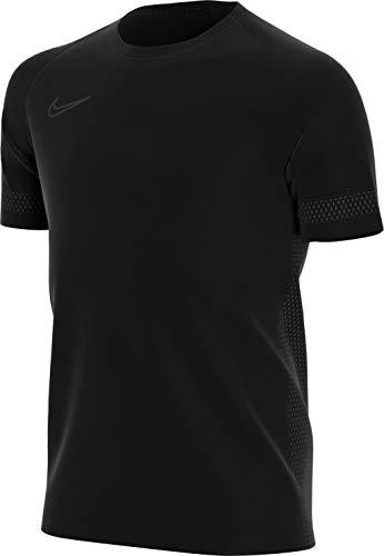 Nike Unisex-Adult Dri-fit Academy 21 Kurzarm-Trikot, Schwarz/Schwarz/Schwarz/Schwarz, M