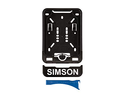 MZA Wechsel-Kennzeichenhalterung mit Aufdruck SIMSON