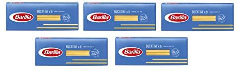 5x Pasta Barilla Bucatini Nr. 9 italienisch Nudeln 500 g pack