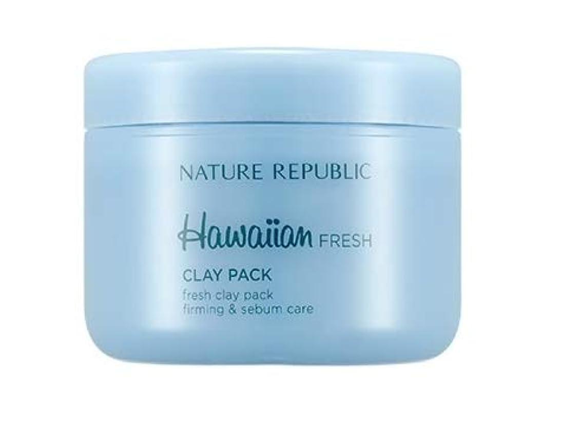 メロン家事をするどれでもNATURE REPUBLIC Hawaiian Fresh Clay Pack ネイチャーリパブリック ハワイアン フレッシュ クレー パック 95ml [並行輸入品]