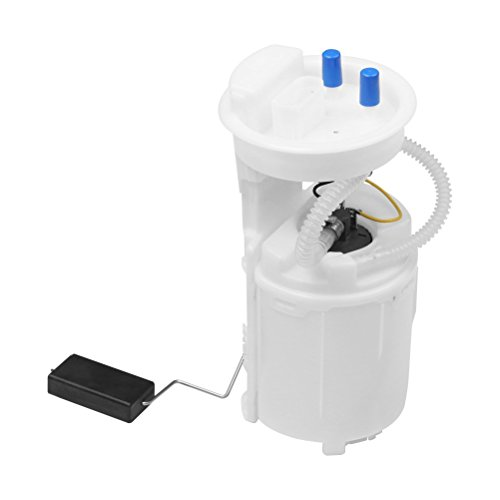 Fuel Pump Assembly - with Sending Unit - Replaces E8424M, 1J0-919-087J, 1J0-919-087H - Compatible with Volkswagen MK4 Beetle, Golf, Jetta - 1.8L, 2.0L, 2.8L - Year Models 1998, 99, 2000, 2001-2005