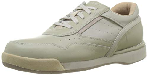 Rockport mens M7100 Milprowalker fashion sneakers, Sport White/Wheat, 10.5 US