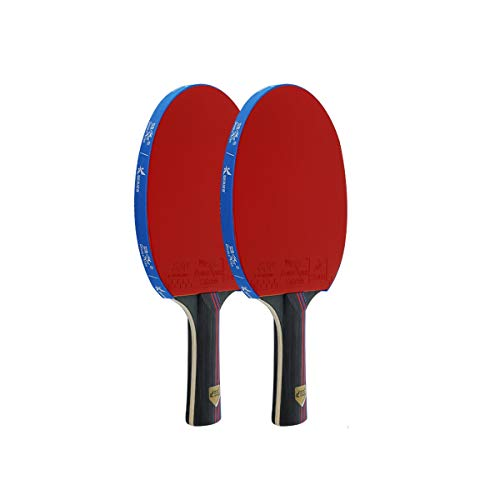 Learn More About HXSD Table Tennis Bat, 2, Horizontal, Pen-Hold, Beginner Student Table Tennis Racke...