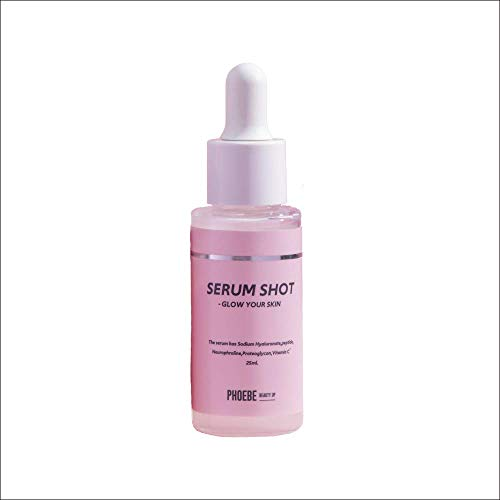 PHOEBE BEAUTY UP(フィービー) セラムショット 日本製 国産ヒト幹細胞培養液 美容液 ニューロフロリン EGF ブルーライトカット