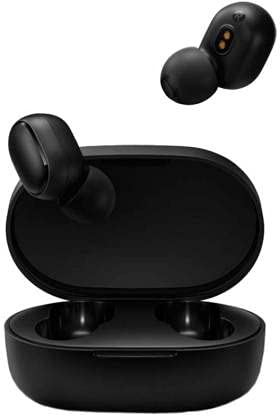 Grostar Bluetooth Earbuds Wireless Earbuds Bluetooth Earphones Wireless Headphones, Bluetooth 5.0 TWS Stereo Earphones in-Ear with Charging Case, Built-in Microphones for Sports,Workout,Gym (Black)