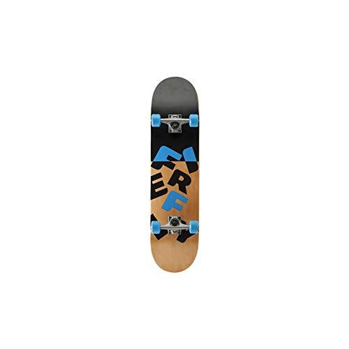 FIREFLY Kinder Skateboard Half Pipe / Falling schwarz / holz / blau