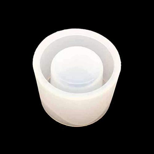 ZJL220 - Molde sin humo para aromaterapia, cera derretida, soporte irregular, moldes candelabros, contenedores, resina, molde artístico, herramientas