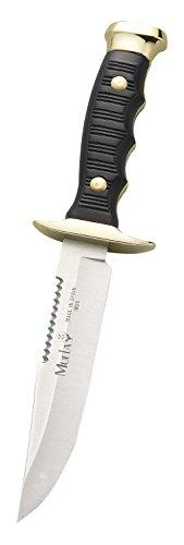 MUELA 7120 - Cuchillo de Caza con Funda de Piel