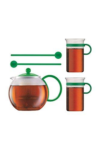 Bodum Assam Set té verde con 2vasos y cuchara ak1844de XY de 70–6