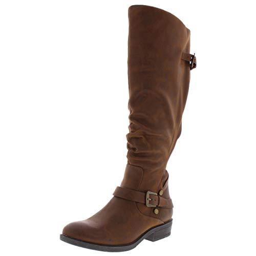 BareTraps Yanessa Knee High Boots, Brush Brown, 8 US