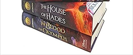 Last 2 books collection of heroes of Olympus House of Hades & Blood of Olympus)
