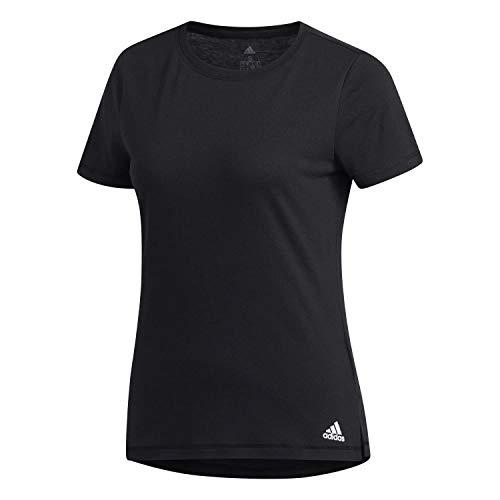adidas Womens Prime T-Shirt, Black, M