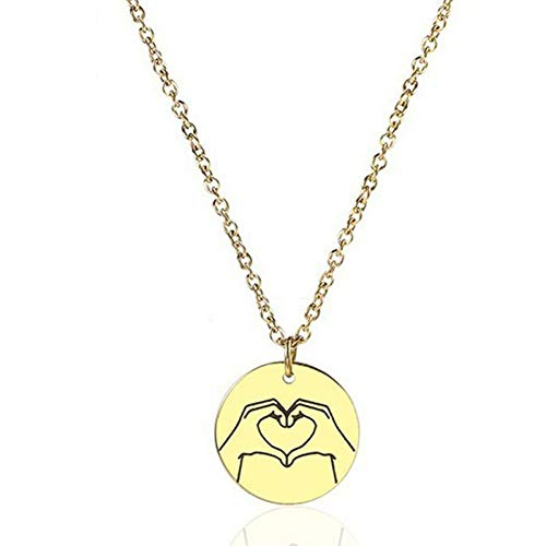 Burenqi Custom Gold Grappige Ketting Hanger Gepersonaliseerde Gouden Munt Leuke Dames Sieraden voor Moeders